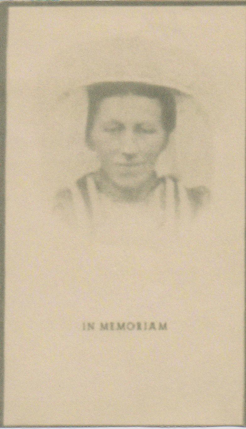 Bidprentje Maria TheodoraDuijnhoven