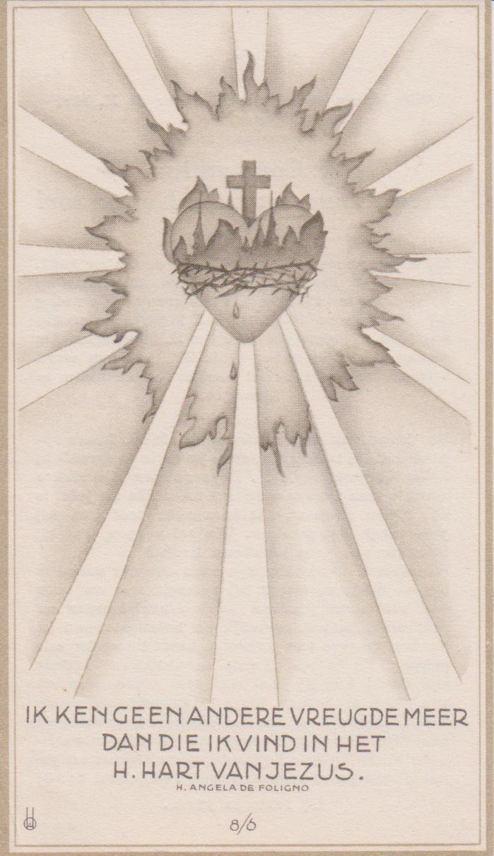 Bidprentje Constantius Franciscus AHartendorf