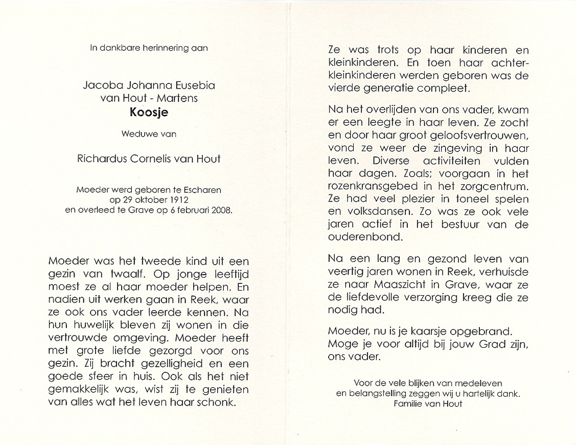 Bidprentje Jacoba Johanna EMartens