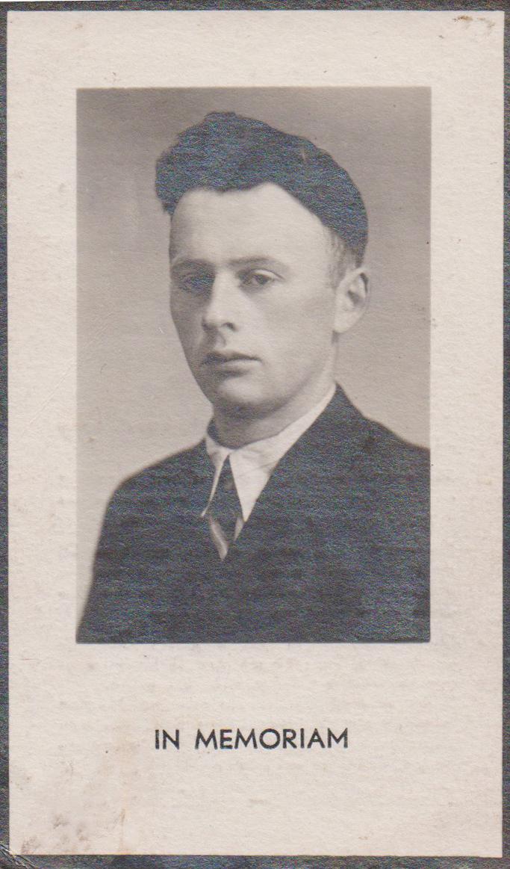 Bidprentje Petrus CornelisBakel