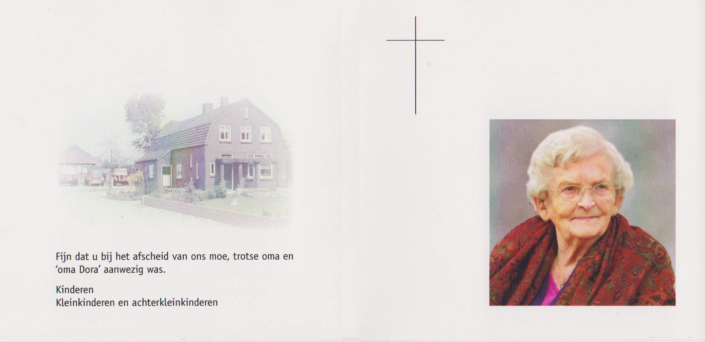 Bidprentje DoraMaassen