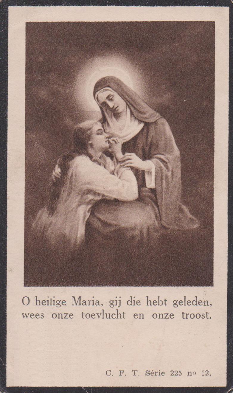 Bidprentje Hermanus ArnoldusManders