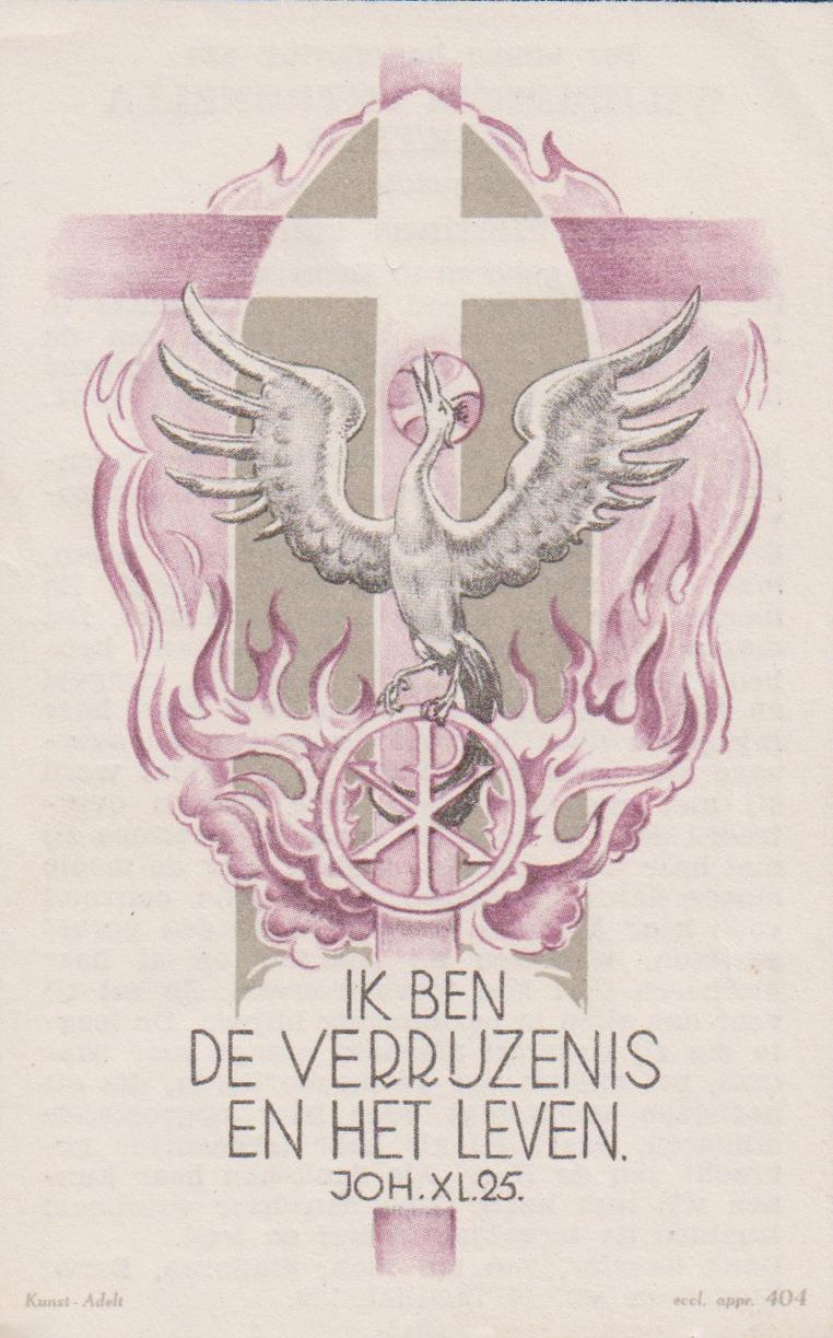 Bidprentje Theodorus EgidiusHagen