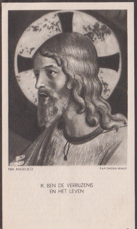 Bidprentje MartinusChristiaans